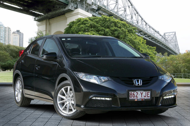 Used Honda Civic 9th Gen VTi-S, 2012 Honda Civic 9th Gen VTi-S Black 5 Speed Sports Automatic Hatchback