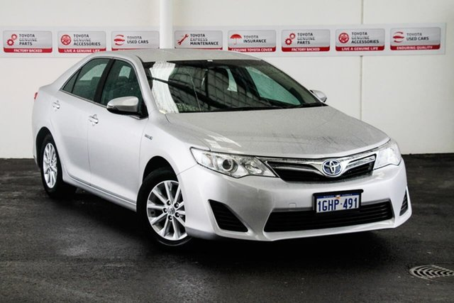 Used Toyota Camry AVV50R Hybrid H, 2014 Toyota Camry AVV50R Hybrid H Silver Pearl Continuous Variable Sedan