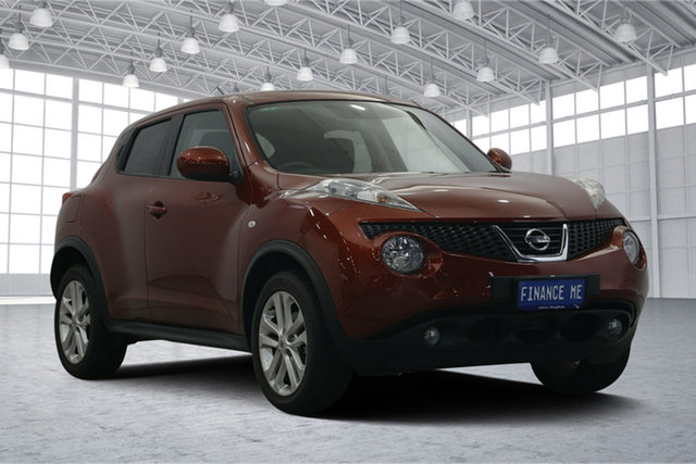 Used Nissan Juke F15 MY14 ST 2WD, 2014 Nissan Juke F15 MY14 ST 2WD Burgundy 1 Speed Constant Variable Hatchback
