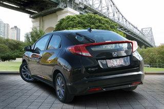 2012 Honda Civic 9th Gen VTi-S Black 5 Speed Sports Automatic Hatchback.
