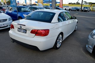 2012 BMW 3 Series E93 MY0312 320d Steptronic White 6 Speed Sports Automatic Convertible