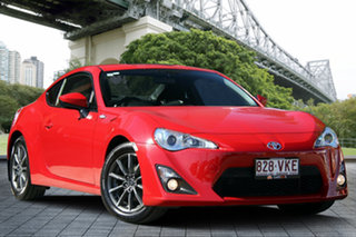 2013 Toyota 86 ZN6 GT Red/Black 6 Speed Manual Coupe.