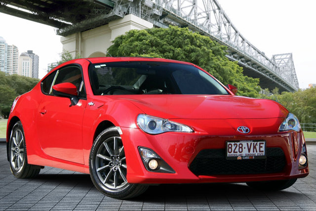 Used Toyota 86 ZN6 GT, 2013 Toyota 86 ZN6 GT Red/Black 6 Speed Manual Coupe