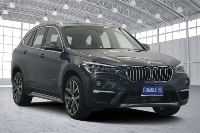 Used BMW X1 F48 xDrive25i Steptronic AWD, 2015 BMW X1 F48 xDrive25i Steptronic AWD Grey 8 Speed Sports Automatic Wagon