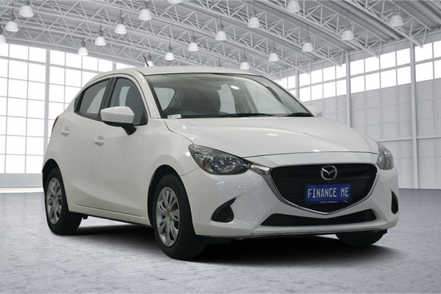 Used Mazda 2 DJ2HAA Neo SKYACTIV-Drive, 2014 Mazda 2 DJ2HAA Neo SKYACTIV-Drive White 6 Speed Sports Automatic Hatchback