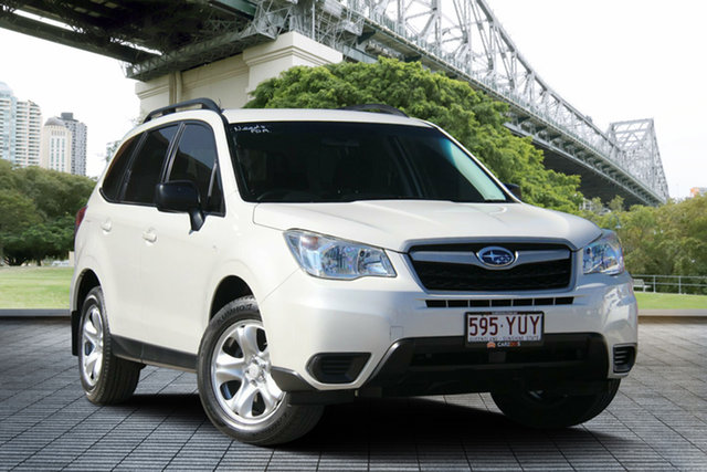 Used Subaru Forester S4 MY13 2.5i Lineartronic AWD, 2013 Subaru Forester S4 MY13 2.5i Lineartronic AWD White 6 Speed Constant Variable Wagon