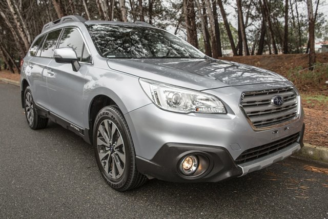 Used Subaru Outback B6A MY16 2.5i CVT AWD, 2016 Subaru Outback B6A MY16 2.5i CVT AWD Silver 6 Speed Constant Variable Wagon