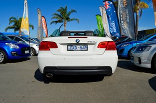 2012 BMW 3 Series E93 MY0312 320d Steptronic White 6 Speed Sports Automatic Convertible.
