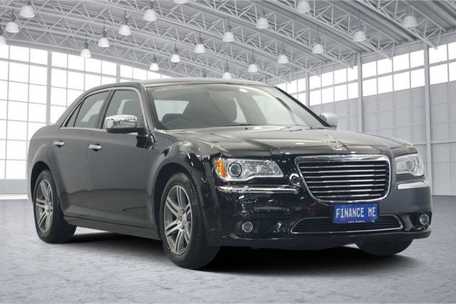 Used Chrysler 300 LX MY12 C E-Shift, 2012 Chrysler 300 LX MY12 C E-Shift Black 8 Speed Sports Automatic Sedan
