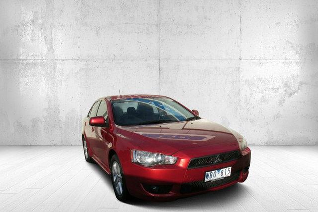 Used Mitsubishi Lancer CJ MY08 VR, 2007 Mitsubishi Lancer CJ MY08 VR Red 6 Speed Constant Variable Sedan