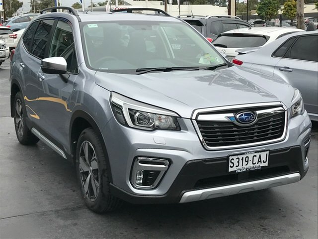 Demo Subaru Forester S5 MY19 2.5i-S CVT AWD, 2019 Subaru Forester S5 MY19 2.5i-S CVT AWD Ice Silver 7 Speed Constant Variable Wagon
