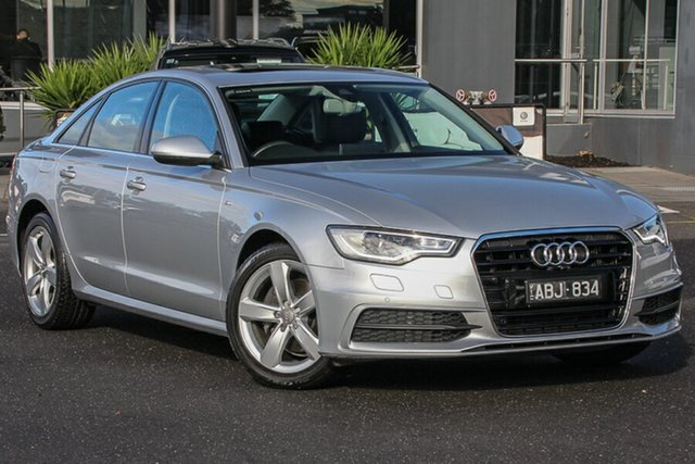 Used Audi A6 4G MY14 Multitronic, 2013 Audi A6 4G MY14 Multitronic Silver 1 Speed Constant Variable Sedan