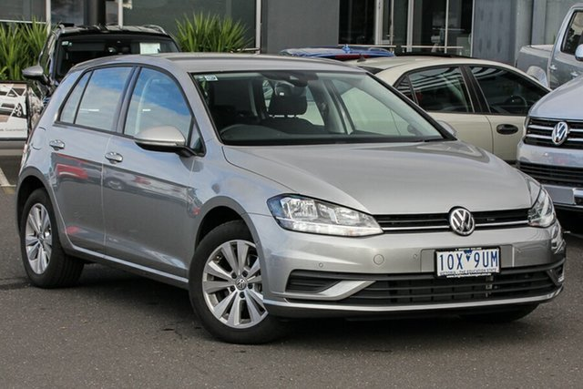 Demo Volkswagen Golf 7.5 MY19.5 110TSI DSG Trendline, 2019 Volkswagen Golf 7.5 MY19.5 110TSI DSG Trendline Tungsten Silver 7 Speed