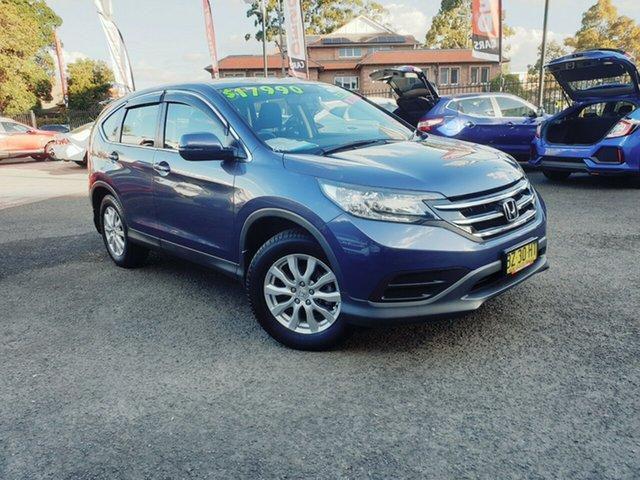 Used Honda CR-V RM MY15 VTi, 2014 Honda CR-V RM MY15 VTi Blue 5 Speed Automatic Wagon