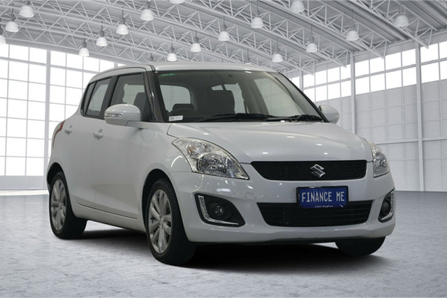 Used Suzuki Swift FZ MY14 GL Navigator, 2014 Suzuki Swift FZ MY14 GL Navigator White 4 Speed Automatic Hatchback