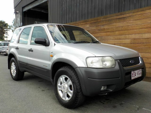 Used Ford Escape BA XLT, 2001 Ford Escape BA XLT Silver 4 Speed Automatic Wagon