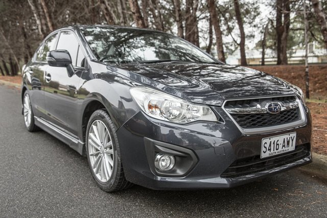Used Subaru Impreza G4 MY12 2.0i-S Lineartronic AWD, 2012 Subaru Impreza G4 MY12 2.0i-S Lineartronic AWD Dark Grey 6 Speed Constant Variable Sedan
