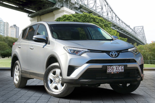 Used Toyota RAV4 ASA44R GX AWD, 2017 Toyota RAV4 ASA44R GX AWD Silver 6 Speed Sports Automatic Wagon