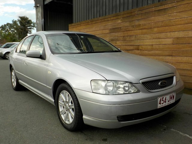 Used Ford Falcon BA Futura, 2004 Ford Falcon BA Futura Silver 4 Speed Sports Automatic Sedan