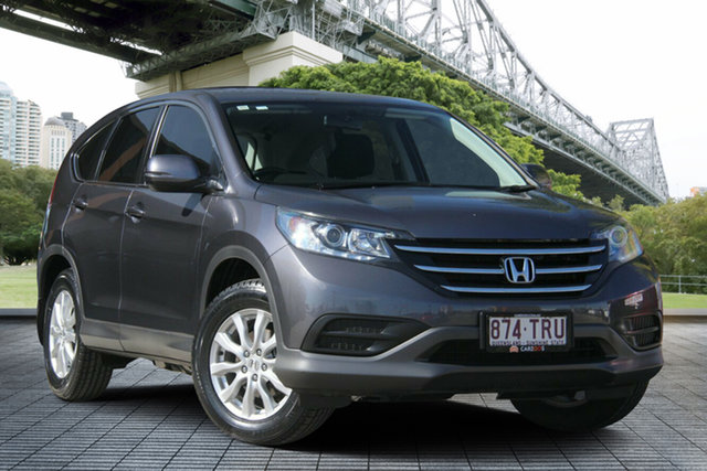 Used Honda CR-V RM MY15 VTi Navi, 2014 Honda CR-V RM MY15 VTi Navi Grey 5 Speed Automatic Wagon