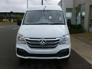 2019 LDV V80 MY19 Mid Roof LWB White 6 Speed Automated Manual Van.