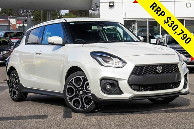 New Suzuki Swift AZ Sport, 2019 Suzuki Swift AZ Sport Pure White 6 Speed Manual Hatchback