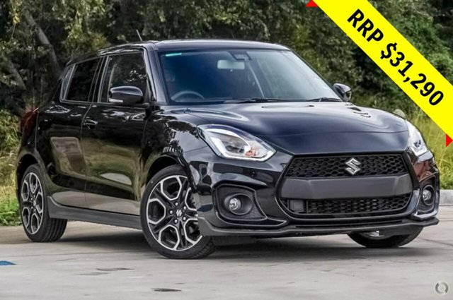 New Suzuki Swift AZ Sport, 2019 Suzuki Swift AZ Sport Super Black 6 Speed Sports Automatic Hatchback
