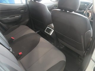 2019 Mitsubishi Triton MR MY19 GLX+ Double Cab White 6 Speed Manual Double Cab Pickup
