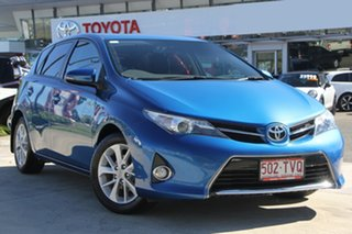 2014 Toyota Corolla ZRE182R Ascent Sport S-CVT Tidal Blue 7 Speed Constant Variable Hatchback.