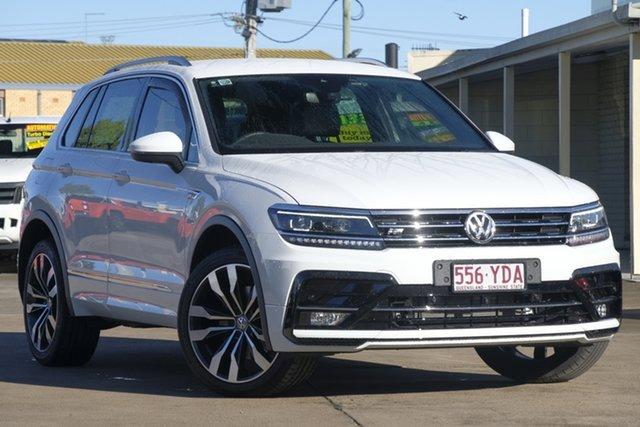 Used Volkswagen Tiguan 5N MY18 162TSI DSG 4MOTION Highline, 2018 Volkswagen Tiguan 5N MY18 162TSI DSG 4MOTION Highline Pure White 7 Speed