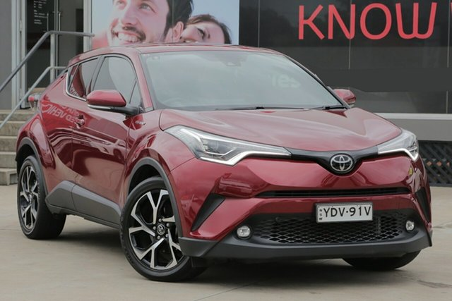 Used Toyota C-HR NGX50R Update Koba (AWD), 2017 Toyota C-HR NGX50R Update Koba (AWD) Atomic Rush Continuous Variable Wagon
