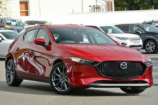 2020 Mazda 3 BP2HLA G25 SKYACTIV-Drive GT Soul Red Crystal 6 Speed Sports Automatic Hatchback.