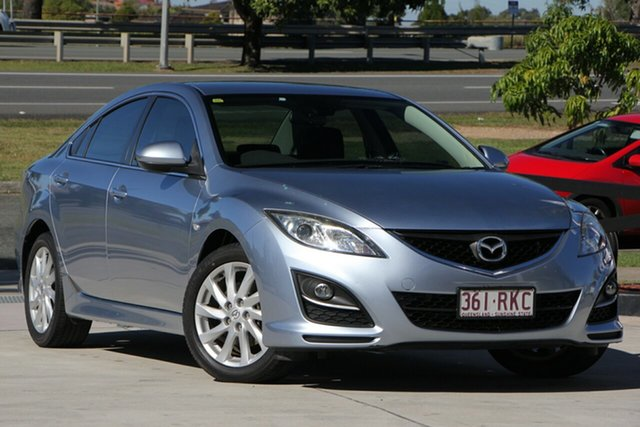 Used Mazda 6 GH1051 MY09 Classic, 2010 Mazda 6 GH1051 MY09 Classic Blue 5 Speed Sports Automatic Sedan