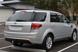 2015 Ford Territory SZ MkII TX Seq Sport Shift AWD Silver 6 Speed Sports Automatic Wagon.