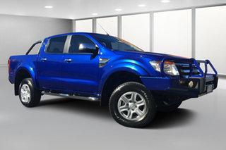 2014 Ford Ranger PX XLT 3.2 (4x4) Blue 6 Speed Manual Dual Cab Utility.