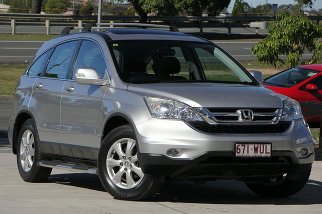 Used Honda CR-V RE MY2010 Sport 4WD, 2010 Honda CR-V RE MY2010 Sport 4WD Silver 5 Speed Automatic Wagon