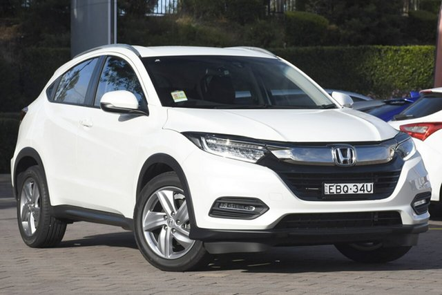 Demo Honda HR-V MY19 +Luxe, 2019 Honda HR-V MY19 +Luxe White Orchid 1 Speed Constant Variable SUV