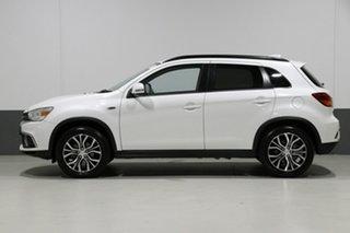 2018 Mitsubishi ASX XC MY19 ES (2WD) White Continuous Variable Wagon