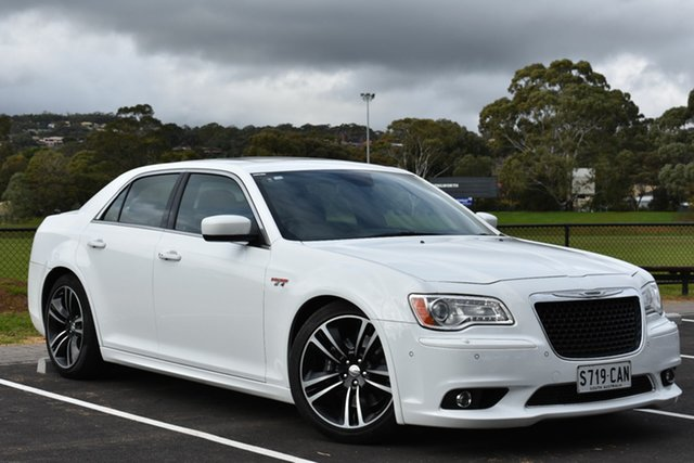 Used Chrysler 300 LX MY13 SRT-8 Core, 2013 Chrysler 300 LX MY13 SRT-8 Core White 5 Speed Sports Automatic Sedan