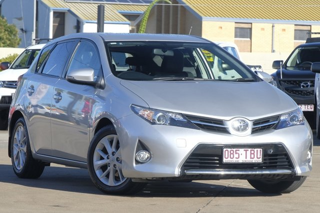 Used Toyota Corolla ZRE182R Ascent Sport S-CVT, 2013 Toyota Corolla ZRE182R Ascent Sport S-CVT Silver 7 Speed Constant Variable Hatchback