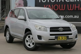 2009 Toyota RAV4 ACA33R MY09 CV Silver 5 Speed Manual Wagon