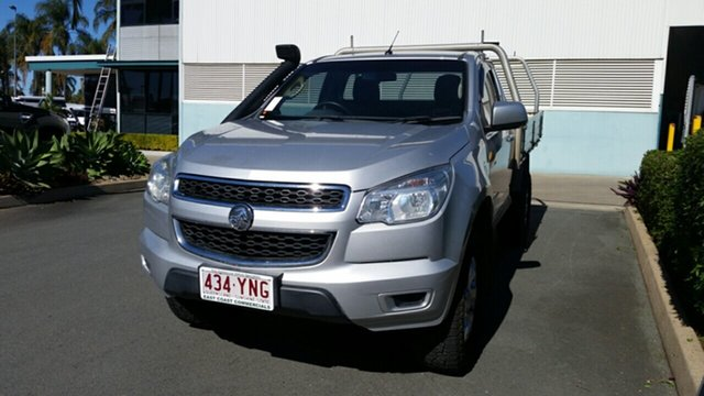 Used Holden Colorado RG MY14 LX, 2014 Holden Colorado RG MY14 LX Silver 6 Speed Sports Automatic Cab Chassis