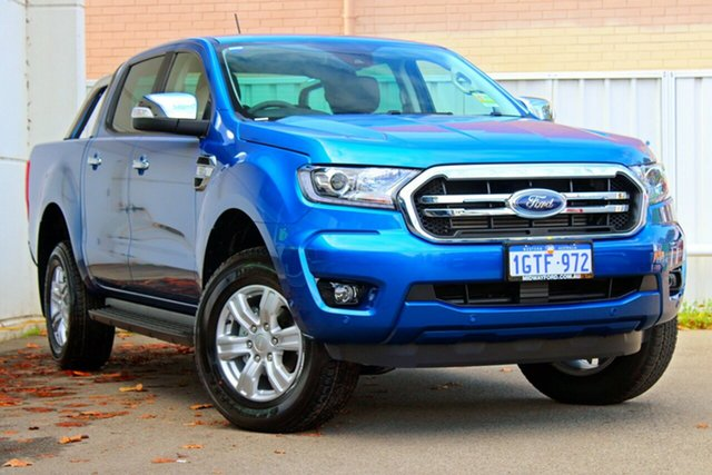 Demo Ford Ranger  XLT Pick-up Double Cab, 2019 Ford Ranger PX MKIII 2019.0 XLT Pick-up Double Cab Winning Blue 6 Speed Sports Automatic