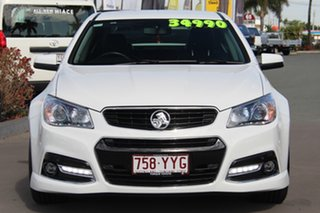 2015 Holden Commodore VF MY15 SS V White 6 Speed Sports Automatic Sedan.