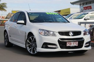 2015 Holden Commodore VF MY15 SS V White 6 Speed Sports Automatic Sedan
