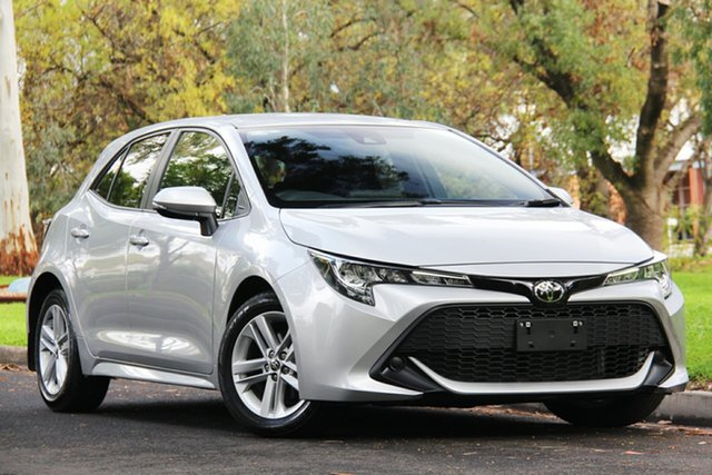 Used Toyota Corolla Mzea12R Ascent Sport, 2018 Toyota Corolla Mzea12R Ascent Sport Silver 10 Speed Constant Variable Hatchback