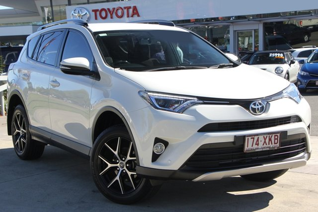 Used Toyota RAV4 ZSA42R GXL 2WD, 2017 Toyota RAV4 ZSA42R GXL 2WD Crystal Pearl 7 Speed Constant Variable Wagon