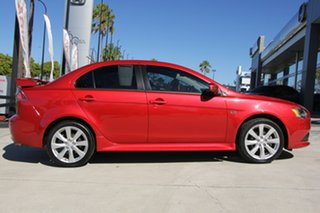 2014 Mitsubishi Lancer CJ MY15 XLS Red 6 Speed Constant Variable Sedan.