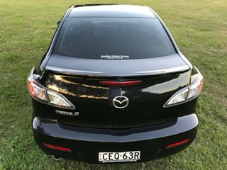 2012 Mazda 3 BL Series 2 MY13 Neo Black 6 Speed Manual Sedan