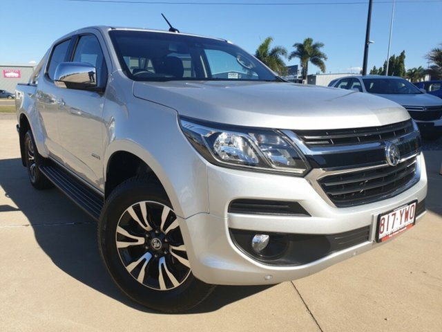 Used Holden Colorado RG MY19 LTZ Pickup Crew Cab, 2018 Holden Colorado RG MY19 LTZ Pickup Crew Cab Silver 6 Speed Sports Automatic Utility